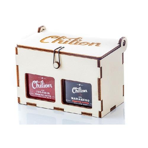 Chili box 2db 120 g-os 4x chili szószal -Chilion