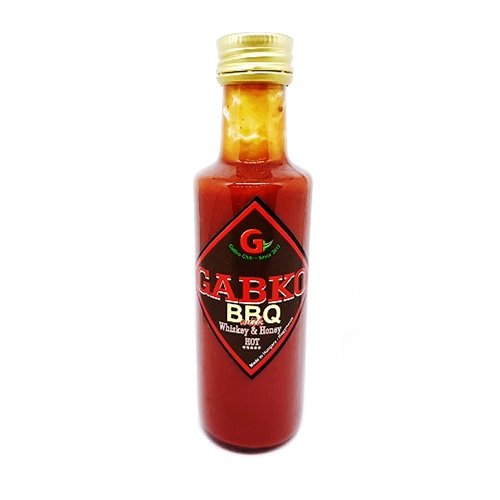 BBQ with Whiskey & Honey 100ml-GaBko