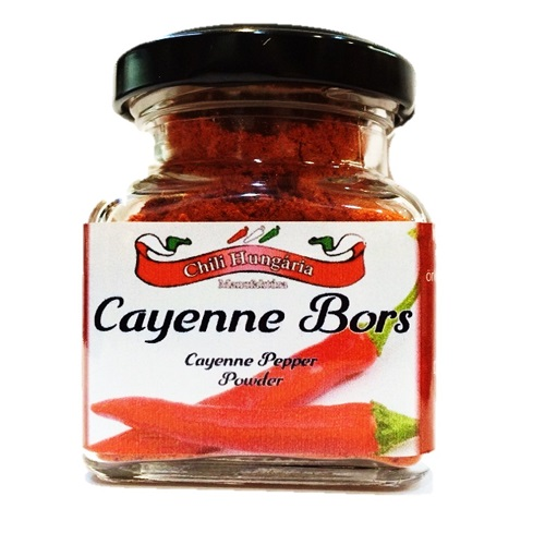 Cayenne bors chili 50g-Chili Hungária