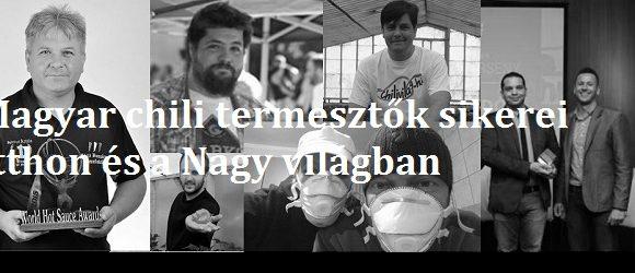 Magyar chili termesztők sikerei itthon és a Nagy világban.