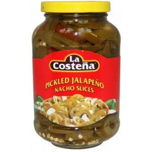 Szeletelt jalapeno paprika ecetes lében 440 g-La Costena