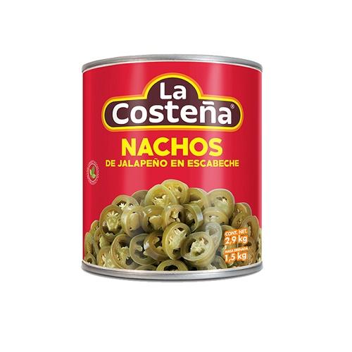 Szeletelt jalapeno paprika ecetes lében 220 g-La Costeña