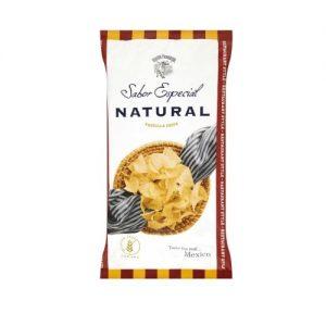 Natúr Tortilla Chips Masa Harina lisztből120g