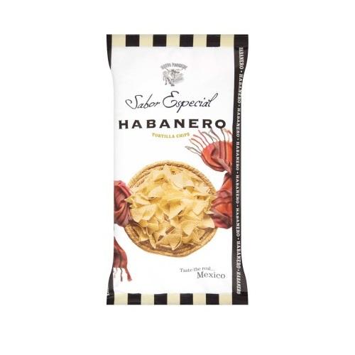Habanero chilivel ízesített tortilla chips 120 g-Nuevo Progreso