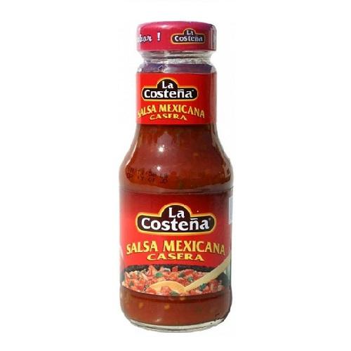 Klasszikus csípős paradicsomos salsa firss korianderrel 475g