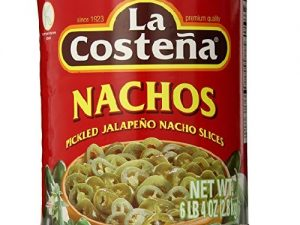 Szeletelt Jalapeno Paprika 2,8 Kg-La Costena