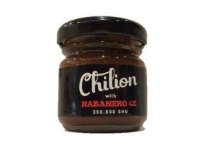 Habanero 4X chili szósz 40 g-Chilion