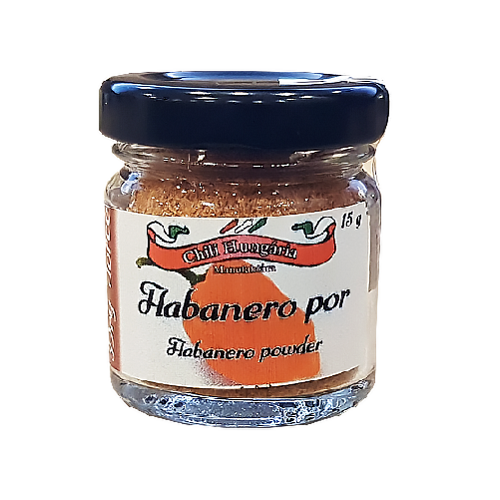 Habanero orange chili por 15g- Chili Hungária