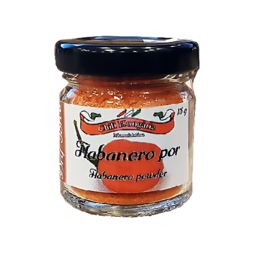 Habanero red chili por 15g- Chili Hungária