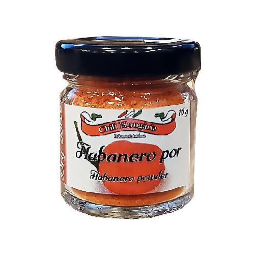 Habanero red chili por 15g- Chili Hungária
