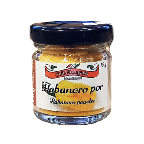 Habanero yellow chili por 15g- Chili Hungária