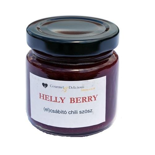 Helly Berry gyümölcsös chili szósz 106 ml