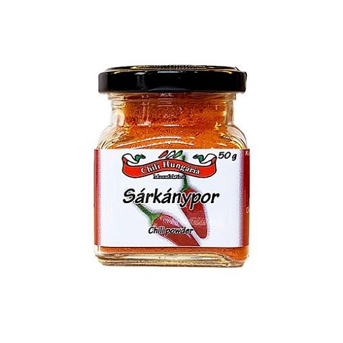 Sárkánypor chili paprika őrlemény 50g - Chili Hungária