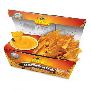 Nacho 'N Dip chilis nacho chips és sajt szósz