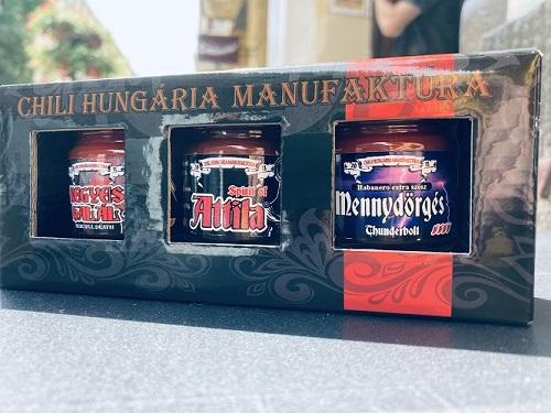 A Jó, a Rossz és a Csúf chili csomag