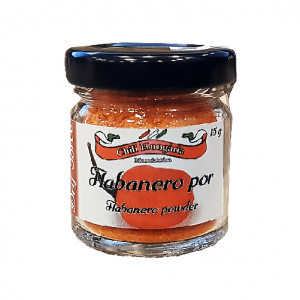 Habanero red chili por 15g